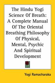 The Hindu-Yogi Science of Breath PDF