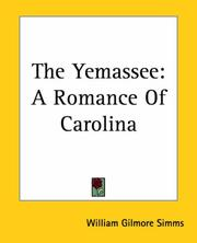 The Yemassee by William Gilmore Simms