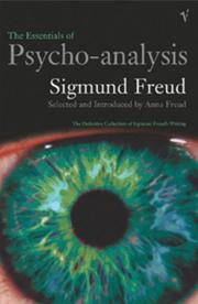 Cover of: The Essentials of Psycho-Analysis by Anna Freud