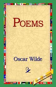 Cover of: Poems by Oscar Wilde