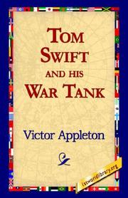 Cover of: Tom Swift And His War Tank by Victor Appleton