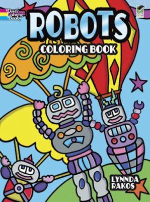 Robots Coloring Book Download PDF