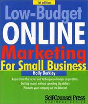 Low-Budget Online Marketing (Self-Counsel Press Business) PDF