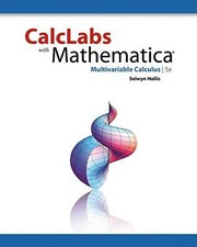 Cover of: Calclabs With Mathematica Multivariable Calculus