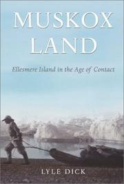 Muskox land by Lyle Dick