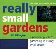 Really small gardens PDF