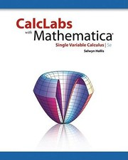 Cover of: Calclabs Mathematica Single Variable Calculus
