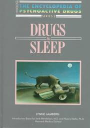 Drugs &amp; sleep by Lynne Lamberg
