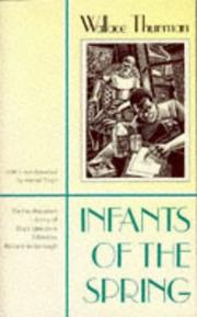 Infants of the spring by Wallace Thurman