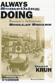 Cover of: Always something doing by David Kruh