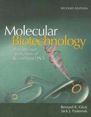 Molecular biotechnology by Bernard R. Glick