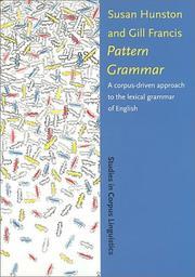 Pattern grammar PDF