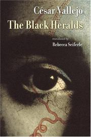 Cover of: The black heralds by César Vallejo