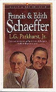 Francis and Edith Schaeffer by Louis Gifford Parkhurst