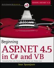 Beginning Aspnet 45 In C And Vb