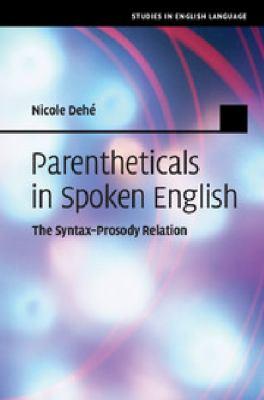 eBook Parentheticals in Spoken English Studies in English