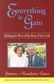 Everything to Gain by Jimmy Carter