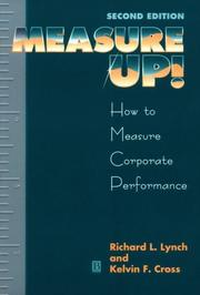 Measure up! by Richard L. Lynch