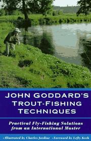 John Goddard's trout-fishing techniques PDF