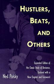 Hustlers, beats, and others by Ned Polsky