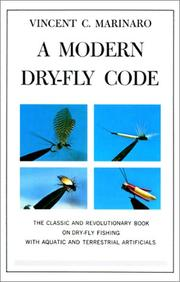 A modern dry-fly code by Vincent Marinaro
