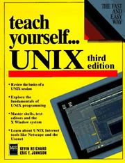 UNIX by Kevin Reichard