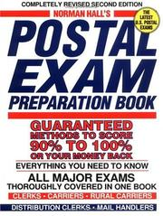 Postal exam preparation book by Norman Hall