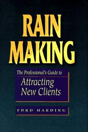 Rain making by Ford Harding
