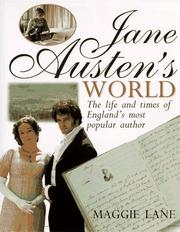 Jane Austen's world by Lane, Maggie