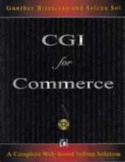CGI for commerce by Gunther Birznieks