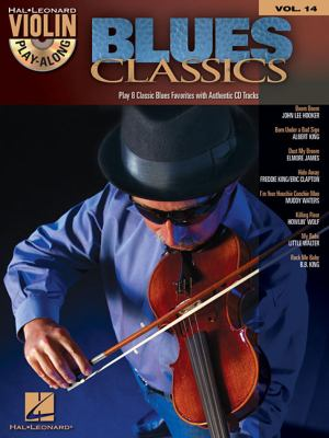 Blues Classics With CD Audio Hal Leonard Violin Play Along