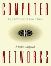 Computer networks by Larry L. Peterson