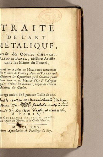 Download Traité de l'art métalique