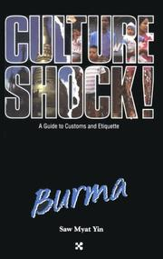Culture shock! by Saw Myat Yin