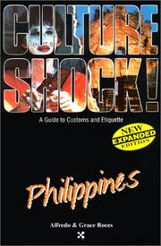Cover of: Philippines (Culture Shock!) by Alfredo Roces, Grace Roces
