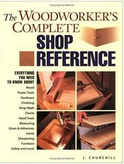 The Woodworker's Complete Shop Reference PDF