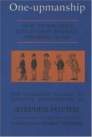 One-upmanship by Potter, Stephen
