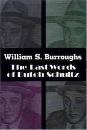 The last words of Dutch Schultz PDF