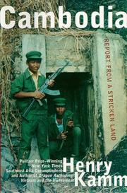 Cover of: Cambodia by Henry Kamm