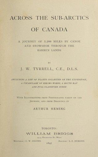 Download Across the sub-Arctics of Canada