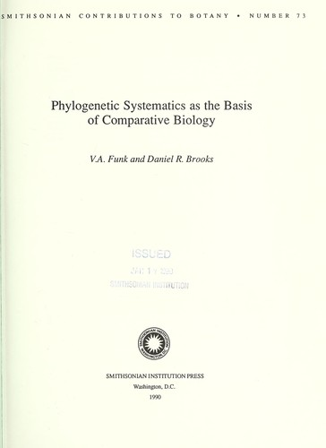Download Phylogenetic systematics as the basis of comparative biology