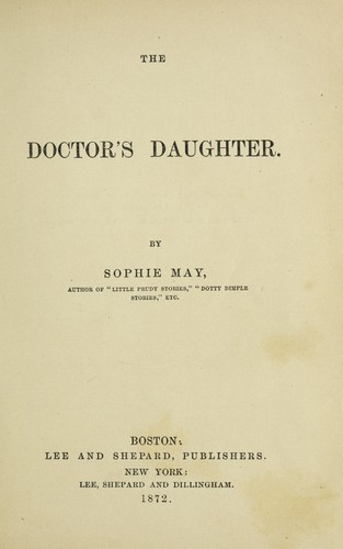 The doctor's daughter.