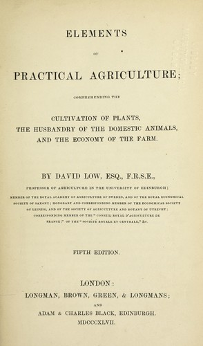 Download Elements of practical agriculture