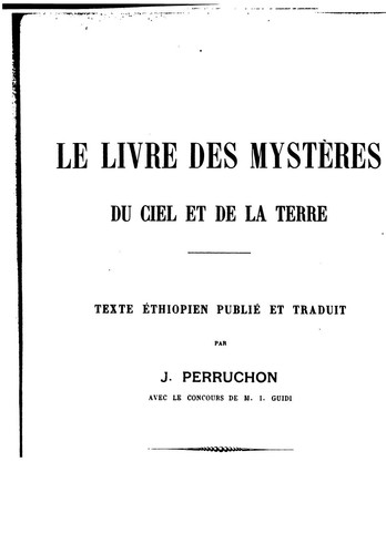 Patrologia Orientalis: Tomus Primus: Parts I. and II.