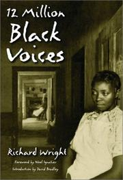 12 million black voices by Wright, Richard