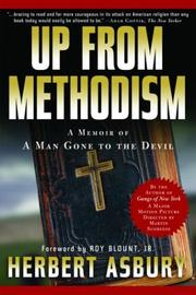 Cover of: Up from Methodism | Herbert Asbury