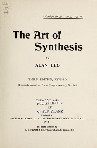 Download The art of synthesis