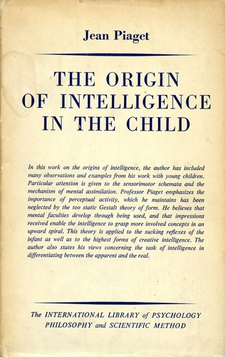 Download The origin of intelligence in the child