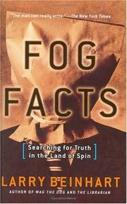 Fog facts by Larry Beinhart