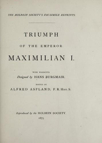 Triumph of the Emperor Maximilian I